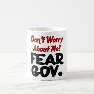 fear basic white mug