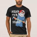 fear  beard bad santa  tshirt