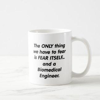 fear biomedical engineer basic white mug