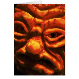 Fear Face IX Greeting Card