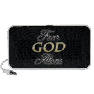 Fear God Alone Portable Speakers