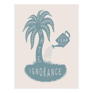Fear + Ignorance = Hate Postcard