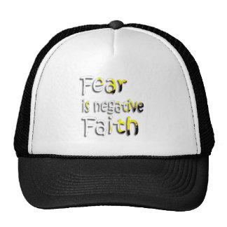 Fear Is Negative Faith 2 Hat