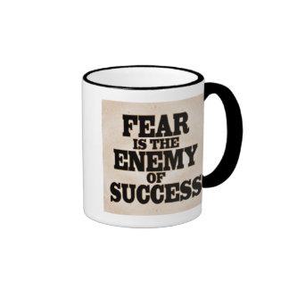 Fear is the Enemy Ringer Mug