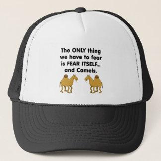 Fear Itself Camels Trucker Hat