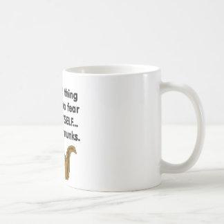 Fear Itself Chipmunks Basic White Mug