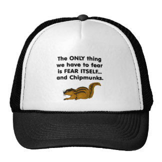 Fear Itself Chipmunks Cap