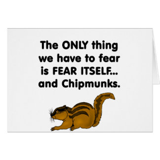 Fear Itself Chipmunks Card