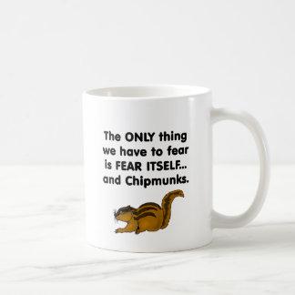 Fear Itself Chipmunks Coffee Mug