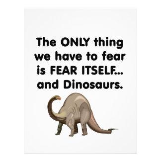 Fear Itself Dinosaurs 1 Custom Flyer