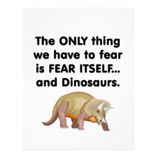Fear Itself Dinosaurs 2 Flyer Design