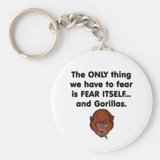 Fear Itself Gorilla Key Ring