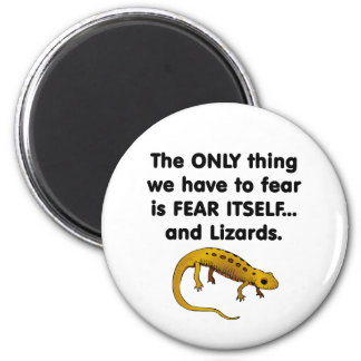 Fear Itself lizards 1 6 Cm Round Magnet
