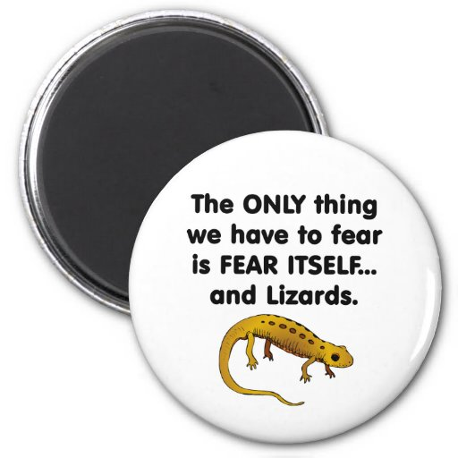 Fear Itself lizards 1 Fridge Magnet