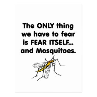 fear itself mosquitoes 2 postcard