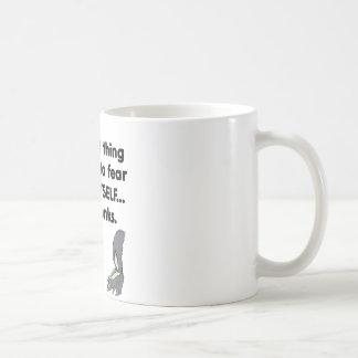 Fear Itself Skunks Coffee Mug