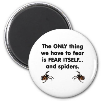 Fear Itself spiders 6 Cm Round Magnet