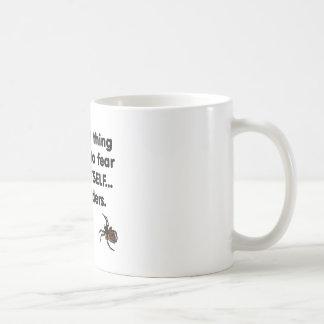 Fear Itself spiders Basic White Mug
