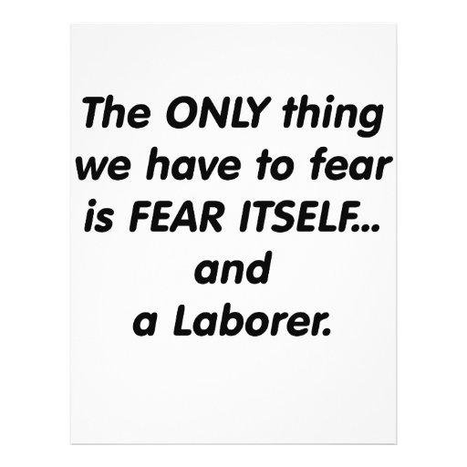 Fear Laborer Flyer