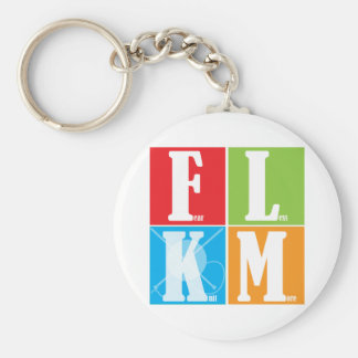 Fear Less Knit More Key Ring