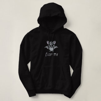 Fear Me! Bat (light text) Hoodie