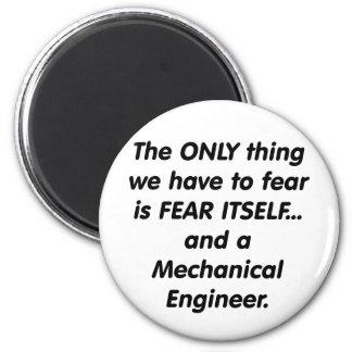 fear mechanical engineer magnet