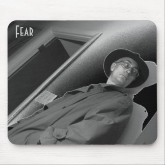 Fear Mouse Pad