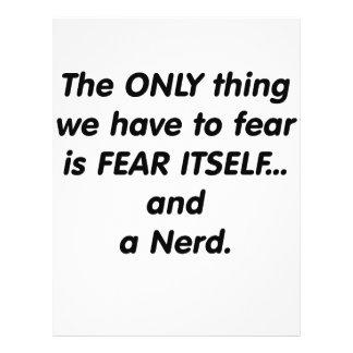 Fear Nerd Custom Flyer