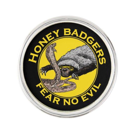 Fear No Evil Honey Badger Snake Animal Art