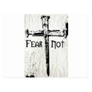 Fear Not Postcard