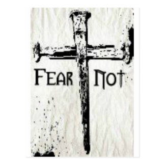 Fear Not Postcard