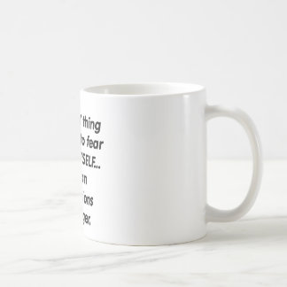 fear operations manager coffee mug