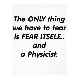 Fear Physicist Custom Flyer