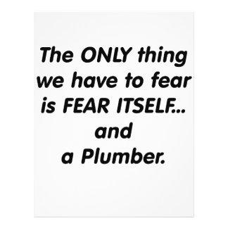 Fear Plumber Flyers