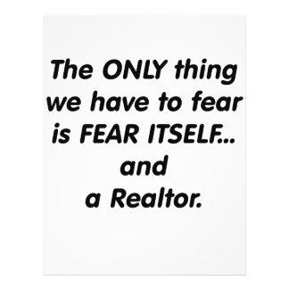 Fear Realtor Full Color Flyer