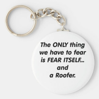 fear roofer key ring