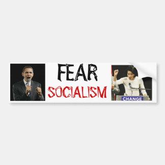 Fear Socialism Bumper Sticker