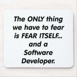 fear softwar developer mouse pad