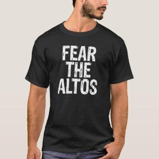 Fear the Altos Glee Club Choir Nerd Musician Shirt