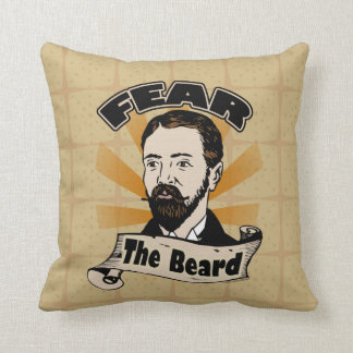 Fear the Beard, Funny Mustache Cushion