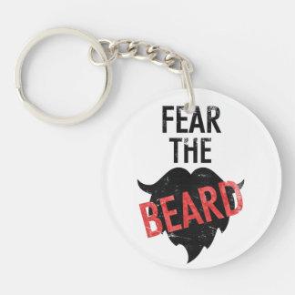 Fear the beard key ring