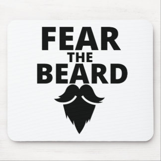 Fear the Beard Mouse Mat