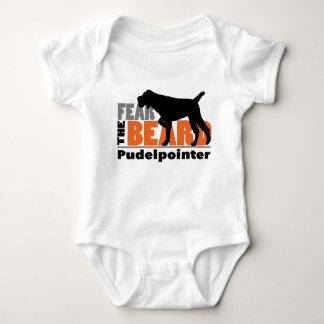 Fear the Beard - Pudelpointer Baby Bodysuit