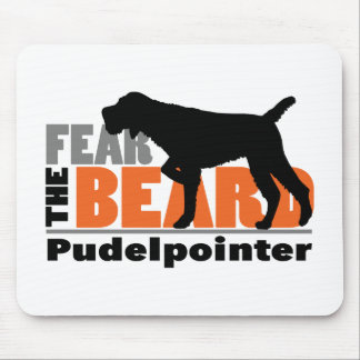 Fear the Beard - Pudelpointer Mouse Pad