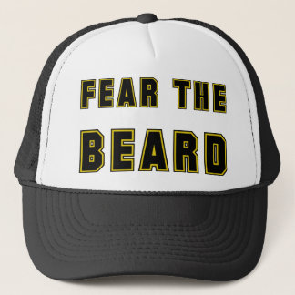 FEAR THE BEARD TRUCKER HAT