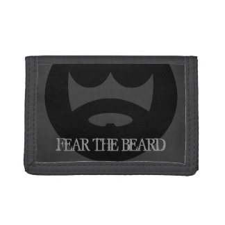 Fear the beard wallet for men