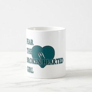Fear-the-broken-hearted Basic White Mug