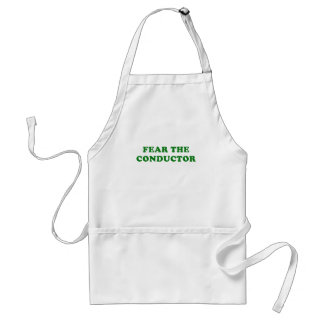 Fear the Conductor Standard Apron