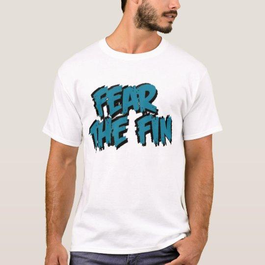 Fear The Fin Logo (Teal) T-Shirt