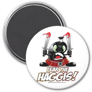 Fear the Haggis 7.5 Cm Round Magnet